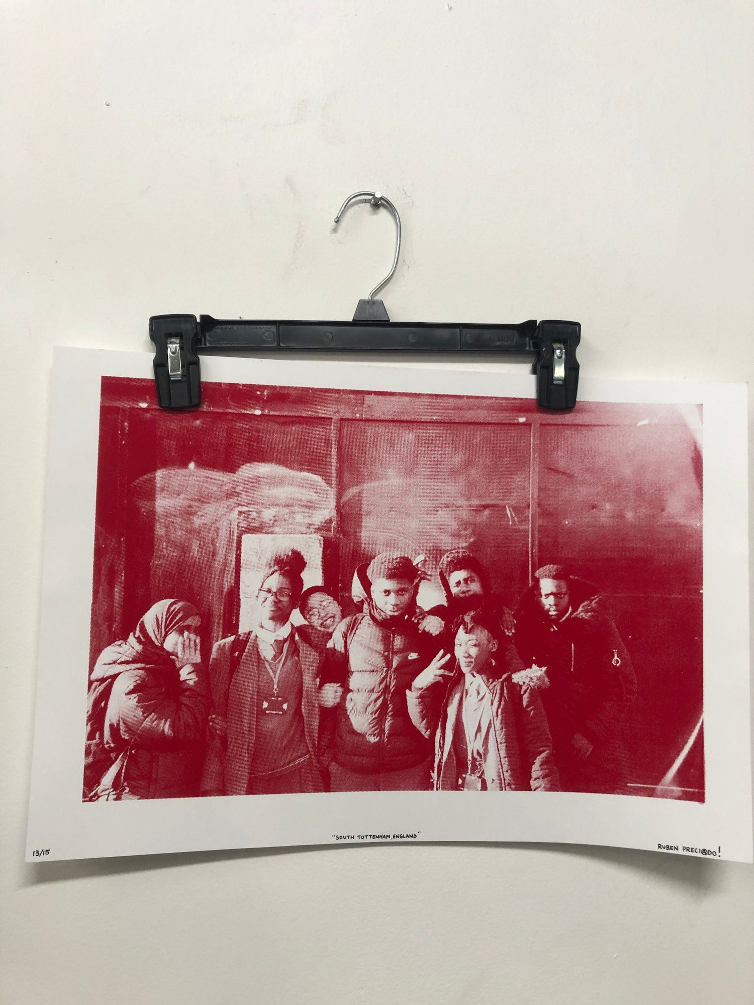 Image of Red 13x19 Hand Screened Print