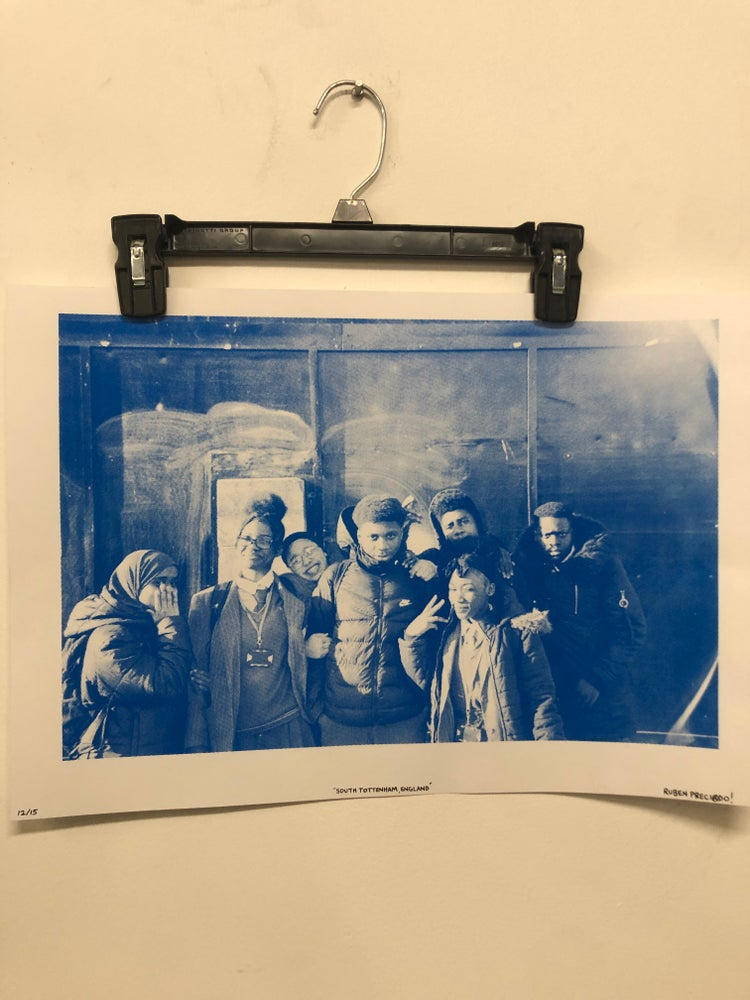 Image of Blue 13x19 Hand Screened Print