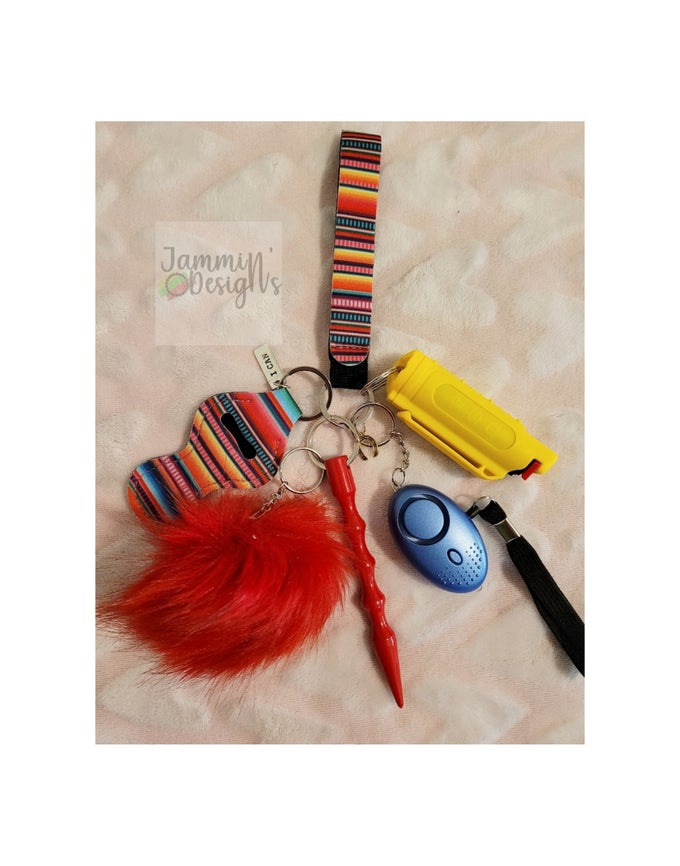 Image of I Can Self Defense Keychain