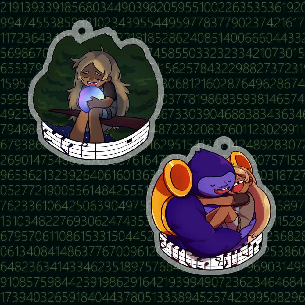 Sidetracked Charms (PRE-ORDER)
