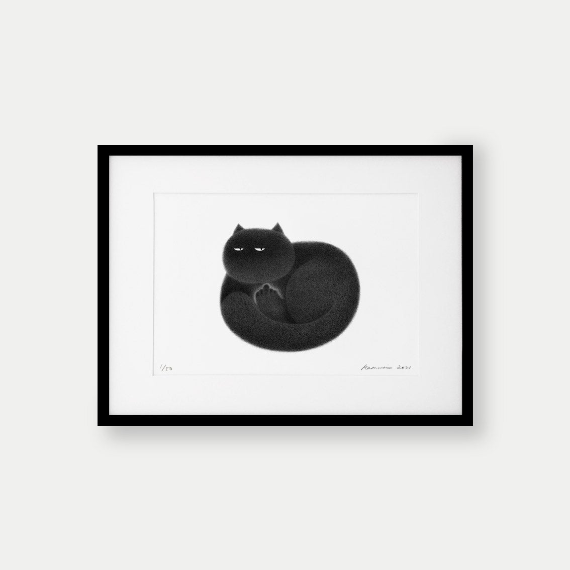 Image of Kitty No.94 – A4 Limited Edition Print