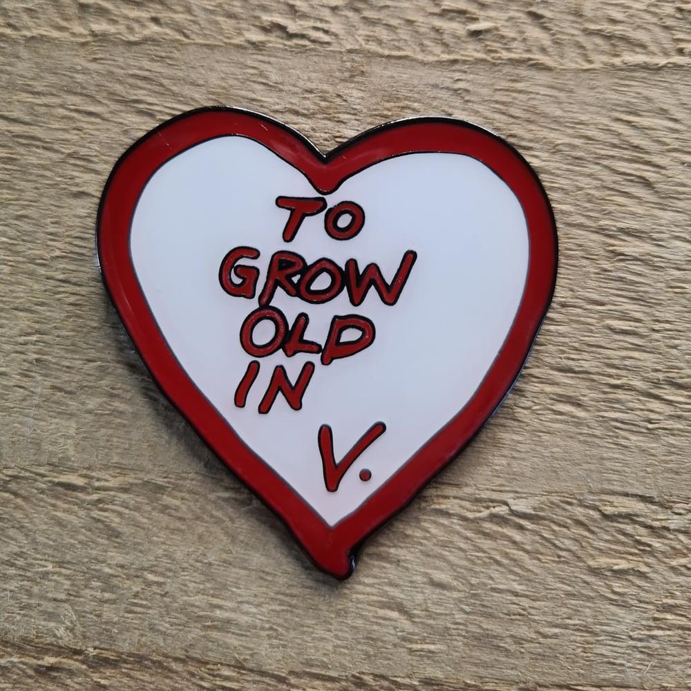 Wanda Vision - To Grow Old in - Pin Badge