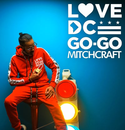 Image of LOVEDCGOGO Helicopter  Red Track Jacket