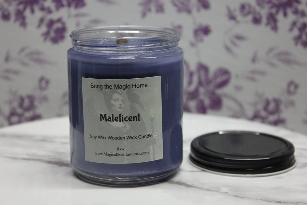 Image of Maleficent Jar Candle Inspired by Disney World