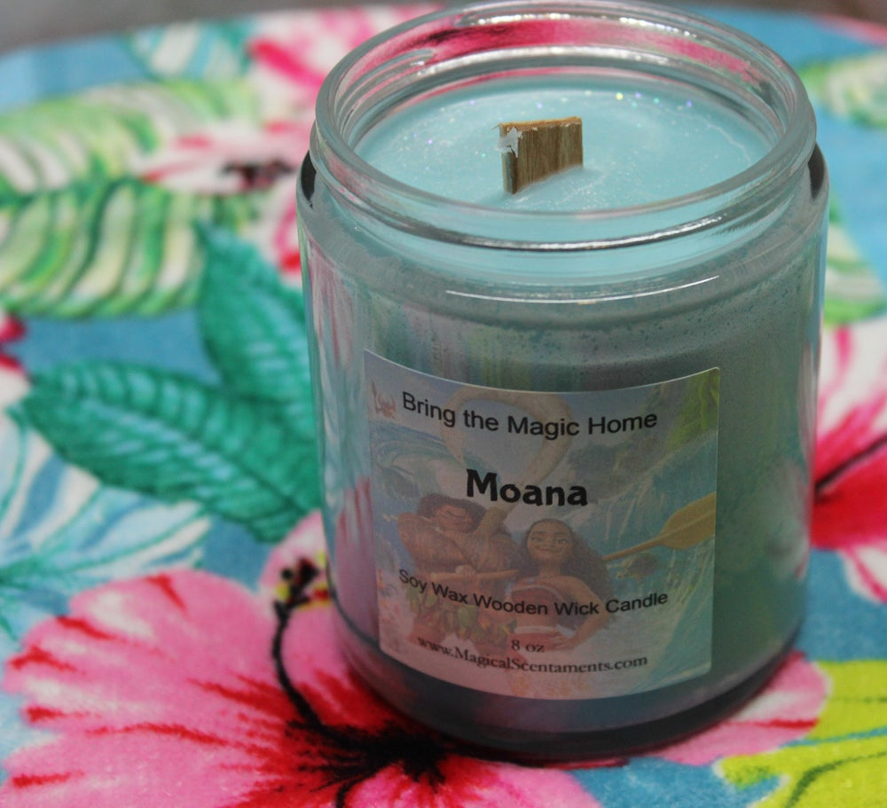 Image of Moana Jar Candle Inspired by Disney World
