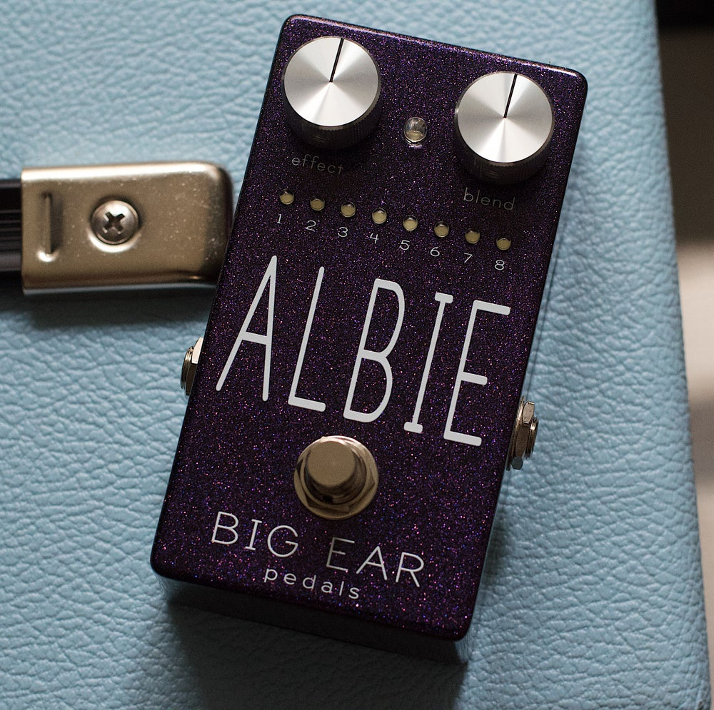 Image of Big Ear Pedals ALBIE - exclusive sparkle purple