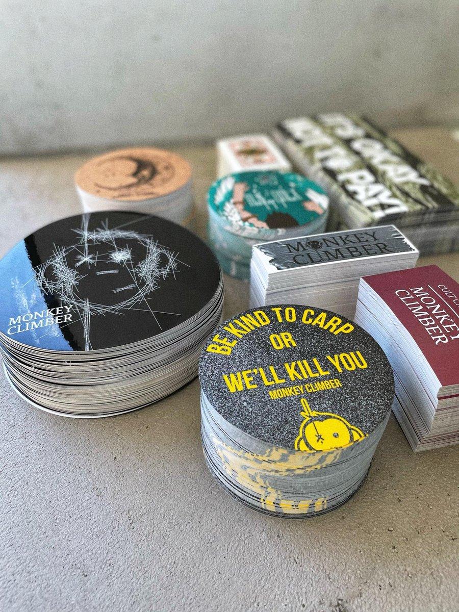 Image of Monkey Climber Sticker Pack Mk.3
