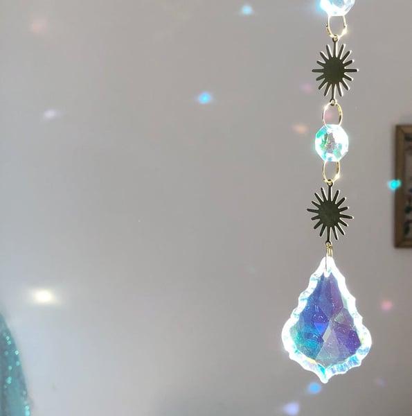 Image of Solstice Suncatcher - Iridescent Glass