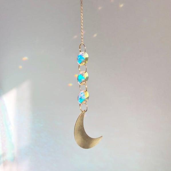 Image of Aurora Moon Suncatcher