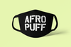 AFRO PUFF face Mask / Cover (black)