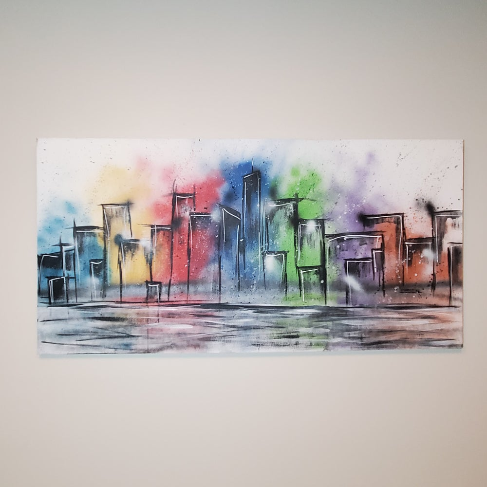 """A Colorful City"""