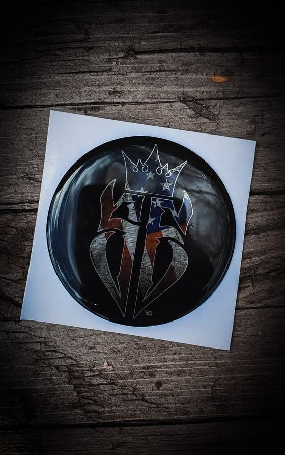 Image of SE USA Flag Can-Am X3 Hood Emblem