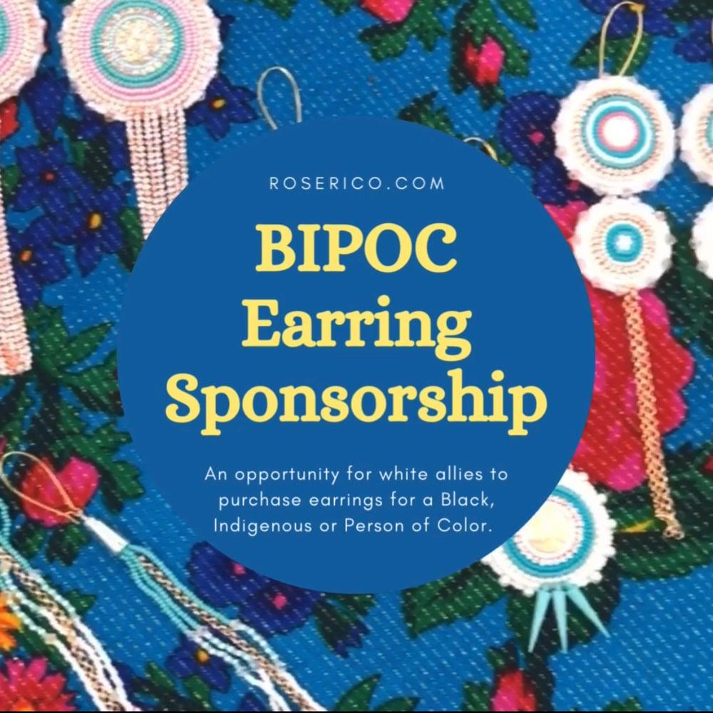 Image of BIPOC Earring Sponsorship