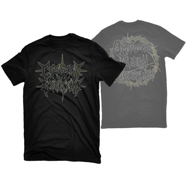 "Image of CEREBRAL EFFUSION ""LOGO"" T-SHIRT"