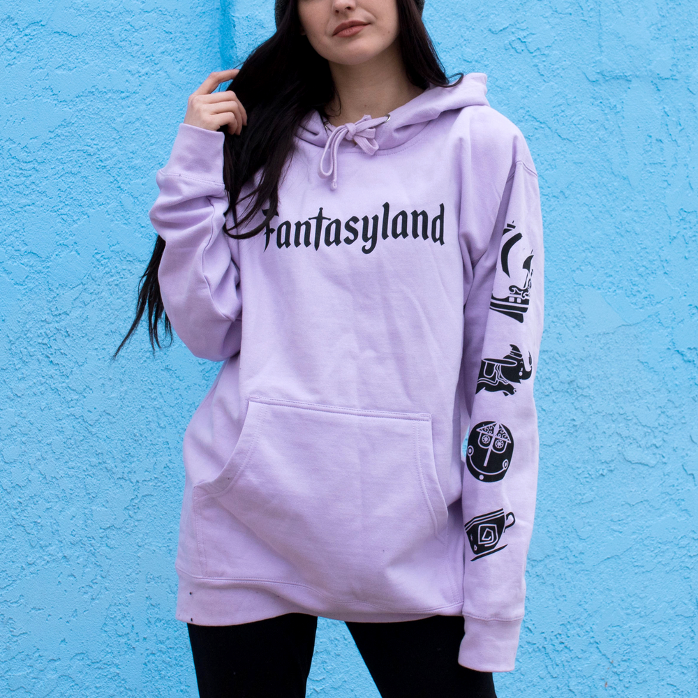 Image of Fantasy Pullover Hoodie Lavender
