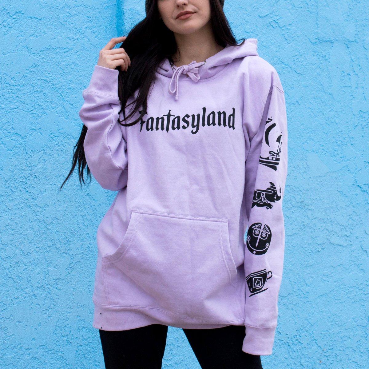 Image of Fantasy Pullover Hoodie Lavender