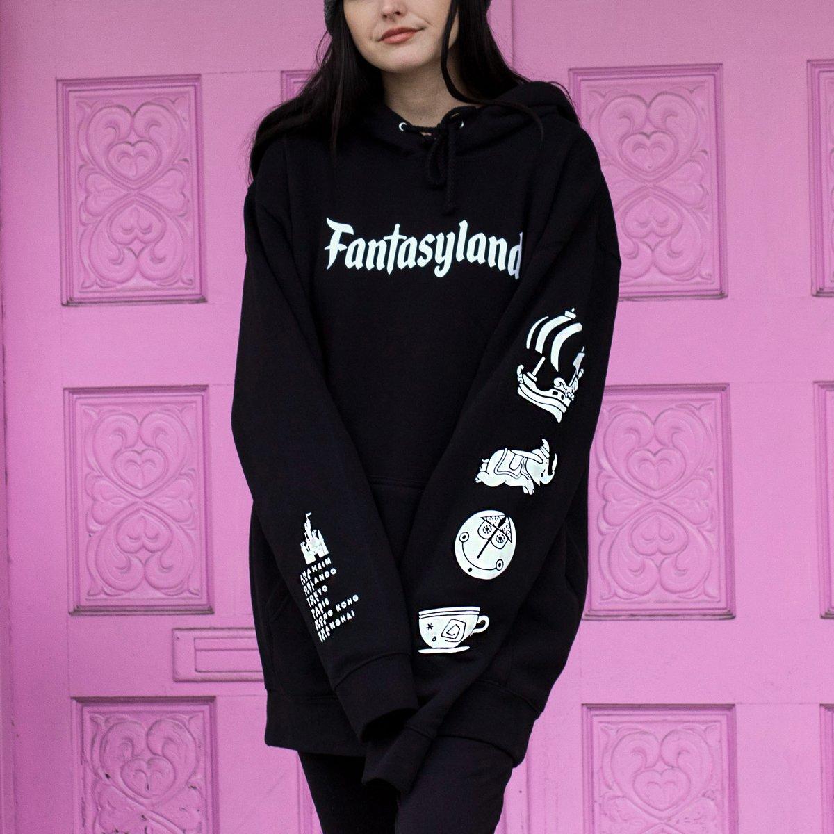 Image of Fantasy Pullover Hoodie Black