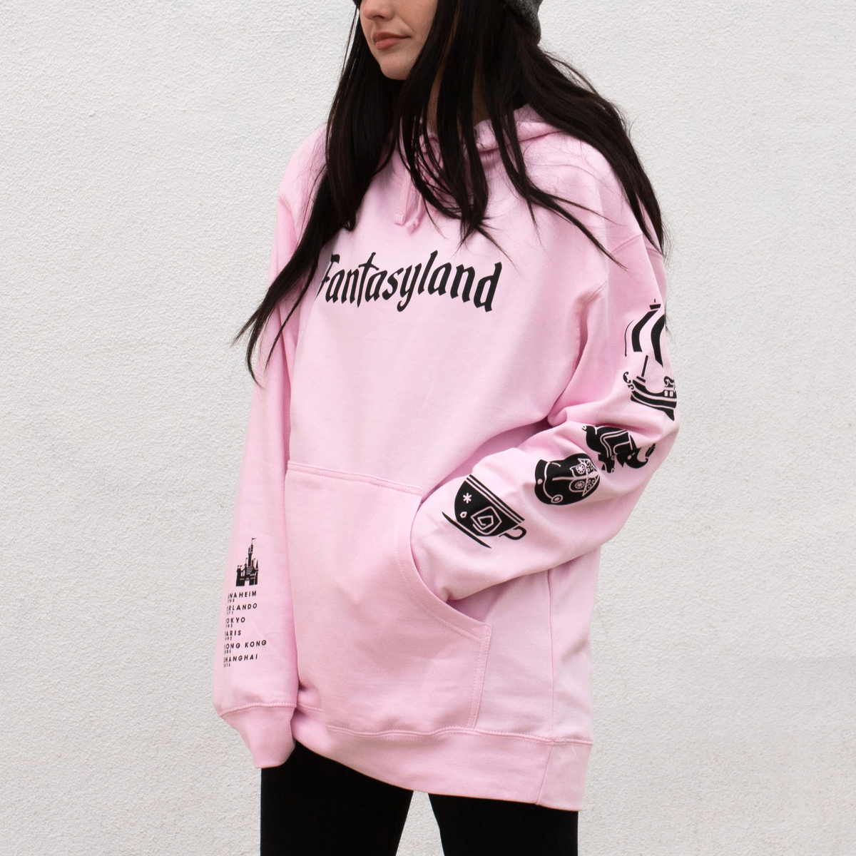 Image of Fantasy Pullover Hoodie Pink
