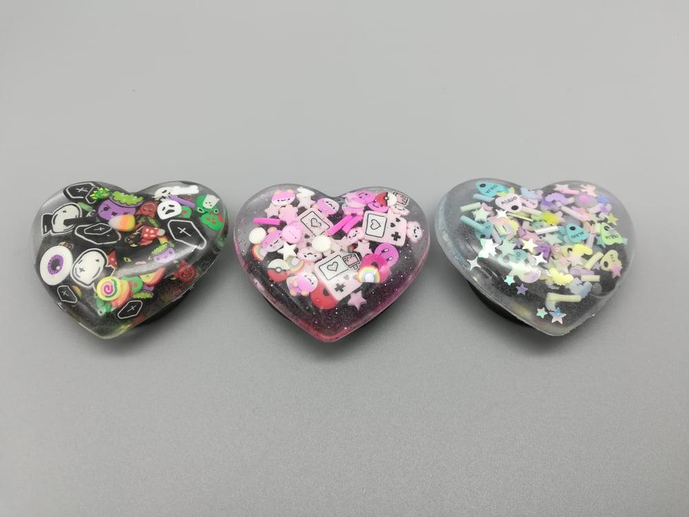 Heart Shaped Phone Grip