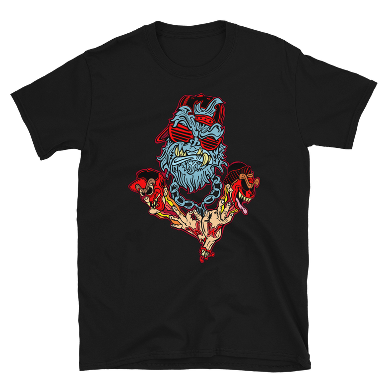 Image of WIKED YETI- T-Shirt (BLACK)