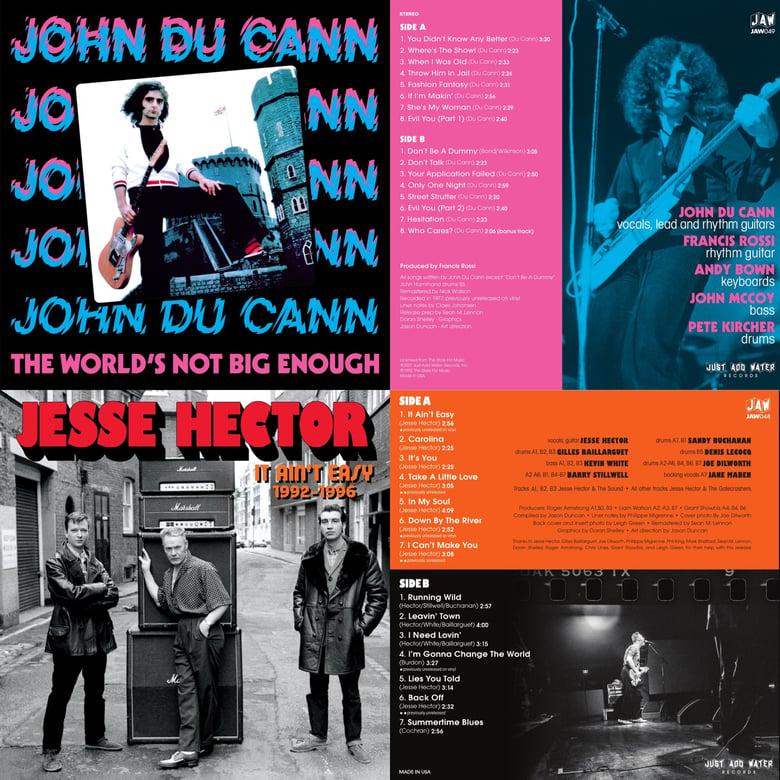 Image of JOHN & JESSE Twin Spin bundle - 2 LPs - black vinyl
