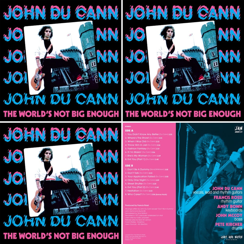 Image of JOHN DU CANN - Triple Play bundle 3 LPs