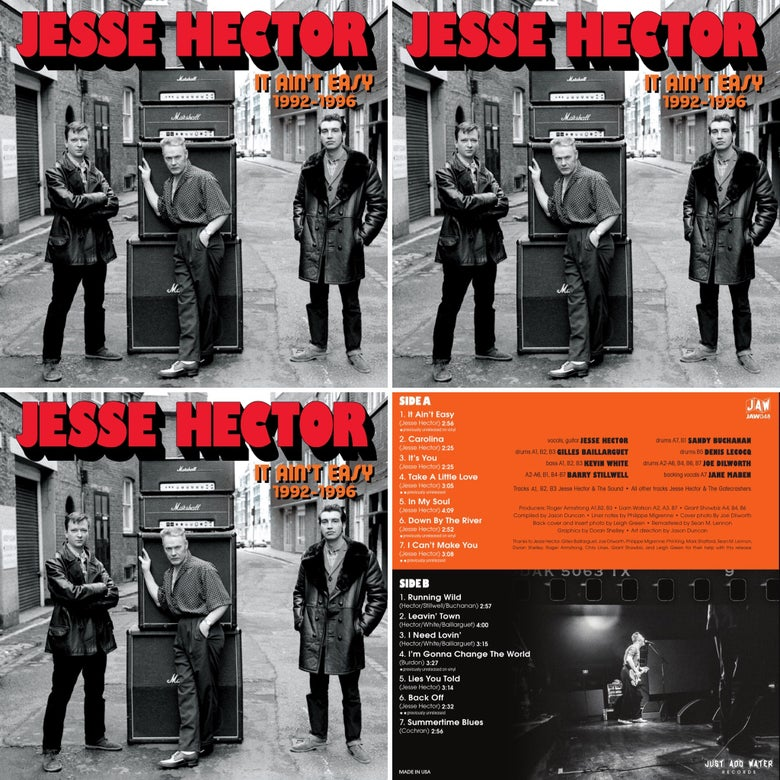 Image of JESSE HECTOR Triple Play bundle 3 LPs