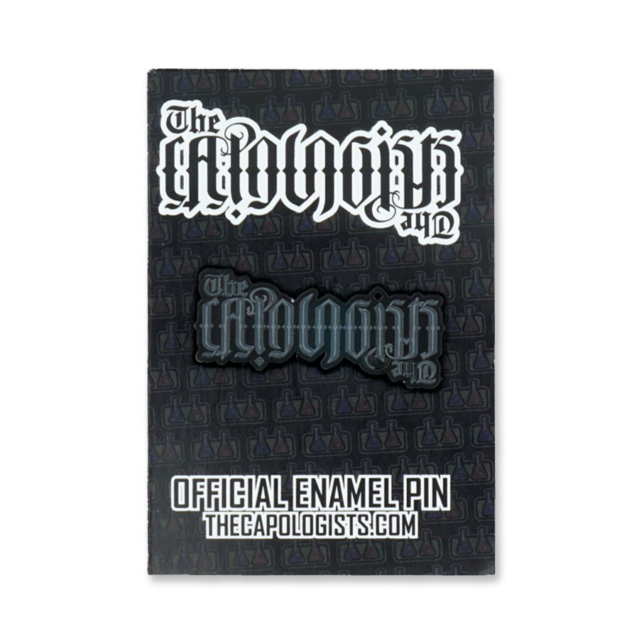 The Capologists Soft Enamel Pin - Black Editions