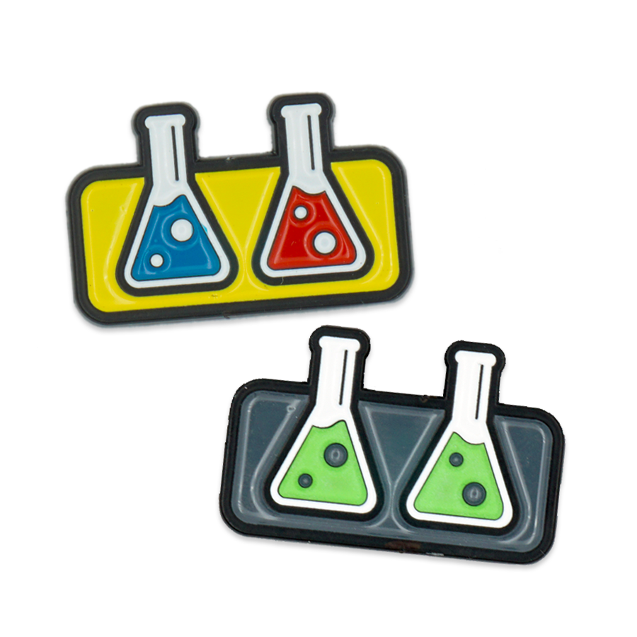 The Capologists Beakers Pin