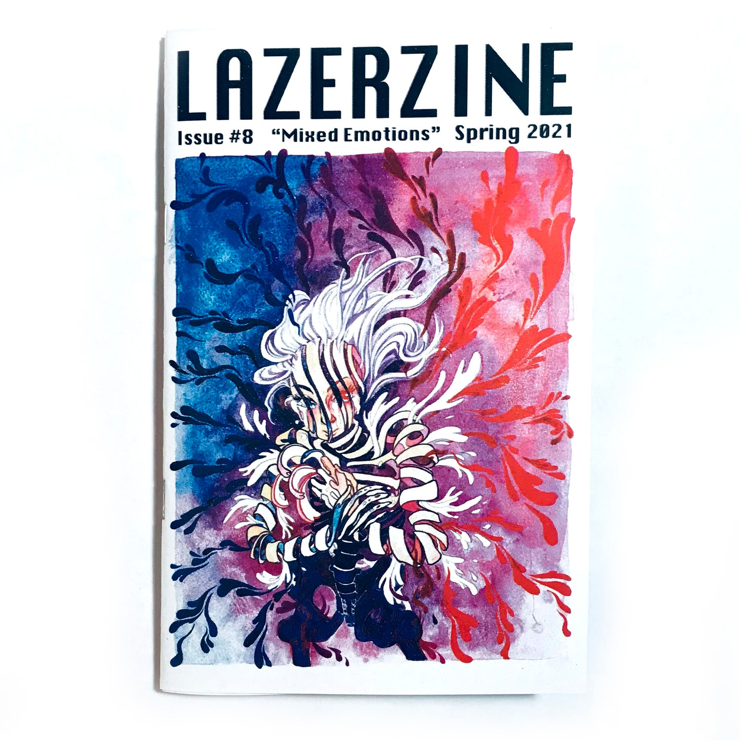 Image of Lazer Zine   - Issue #8 - Mixed Emotions