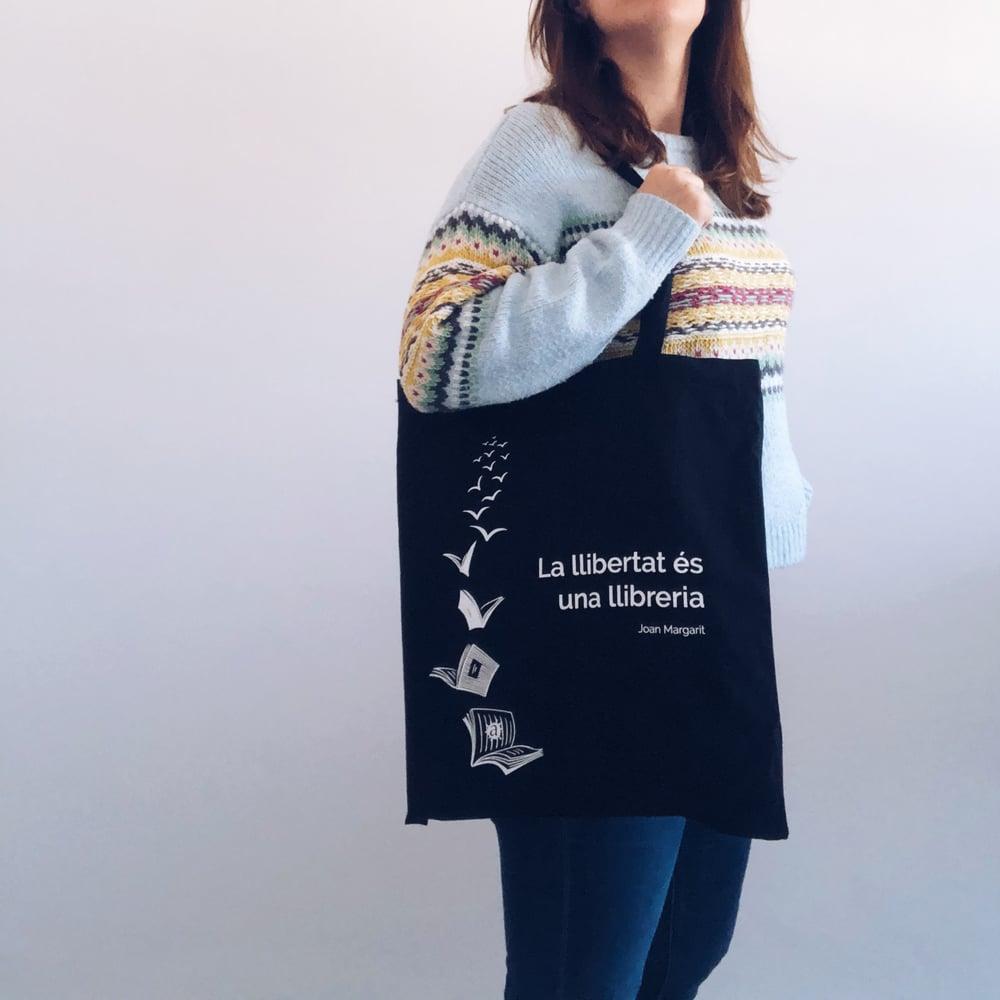 """Image of Bossa """"La llibertat és una llibreria"""""""