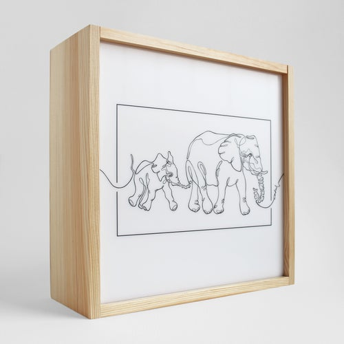 """Image of Leuchte I Lamp  """"ELEPHANTS"""""""