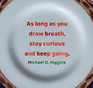 Image of Michael D quote (ref. 121a)