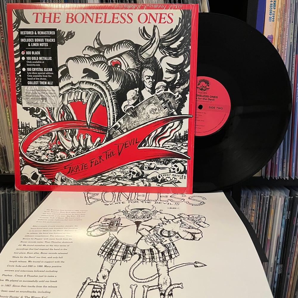 """BONELESS ONES """"Skate For The Devil"""" LP"""