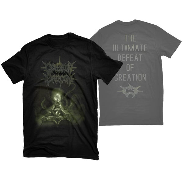 "Image of CEREBRAL EFFUSION ""ULTIMATE DEFEAT"" T-SHIRT"