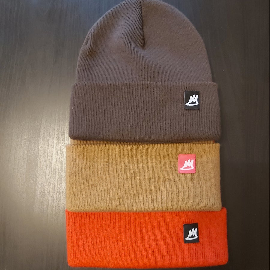 Image of Ski Hats - Browns / Reds
