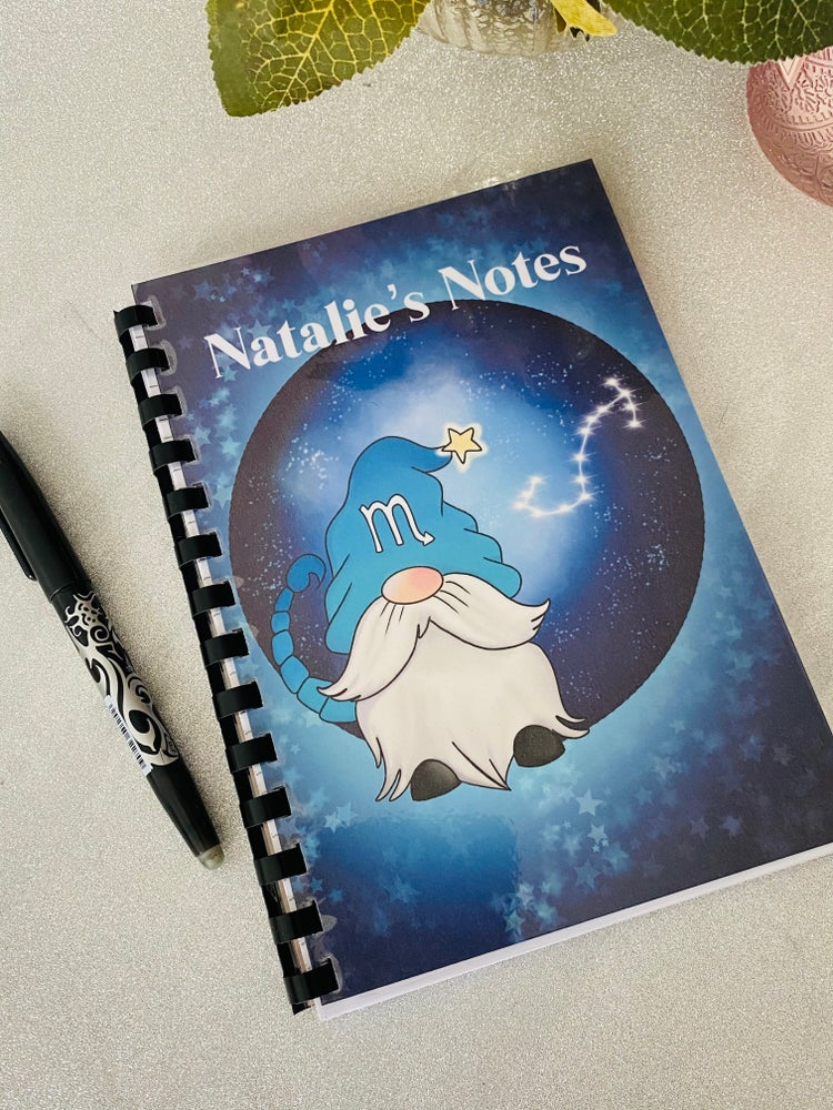 Image of Zodiac Gnome Note book