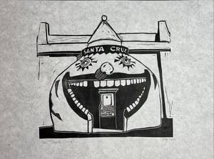 "Image of ""Santa Cruz"" Limited Edition 12"" x 18"" print"