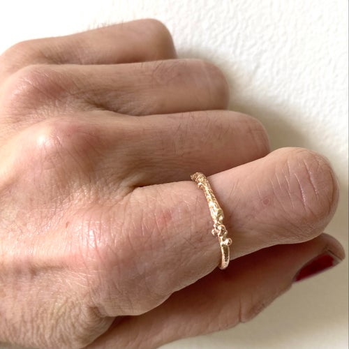 Image of Tierra ring- 9ct rose gold