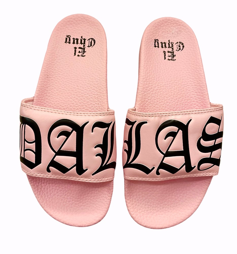 Image of PINK RUNTS SLIDES (NOW SHIPPING)
