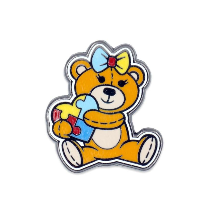 Ellie's Bear Enamel Pin