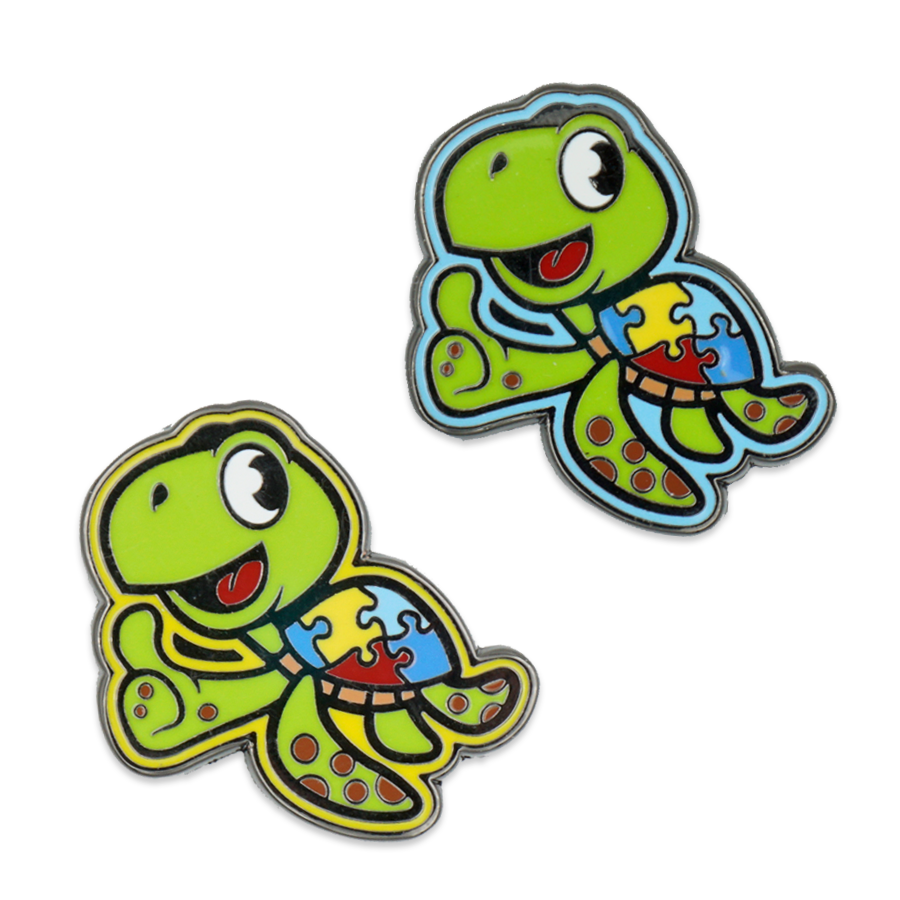 Hunter's Turtle Enamel Pin