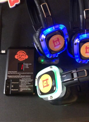Silent headphone(MINIMUM OF 10 HEADPHONES PER ORDER)