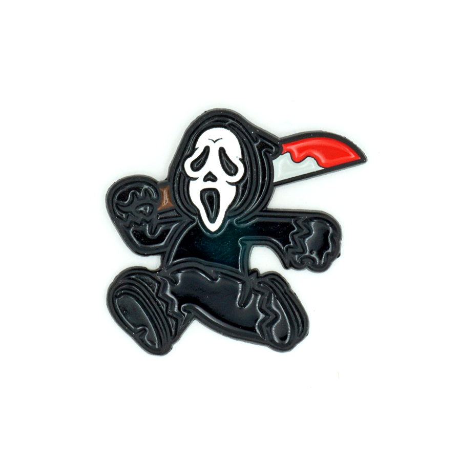 Ghostface enamel pin