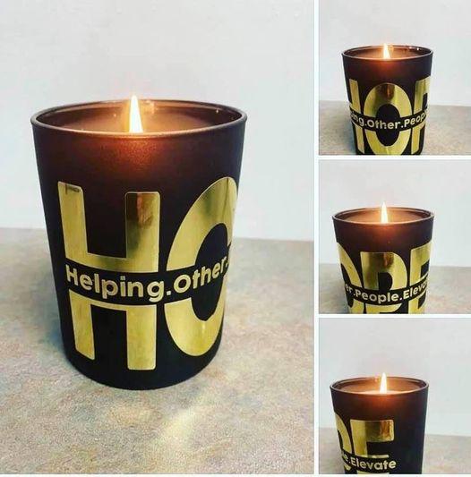 H.O.P.E Candle