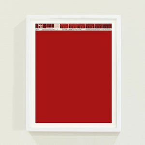 Image of PANTONE® Letraset Posters × Reds