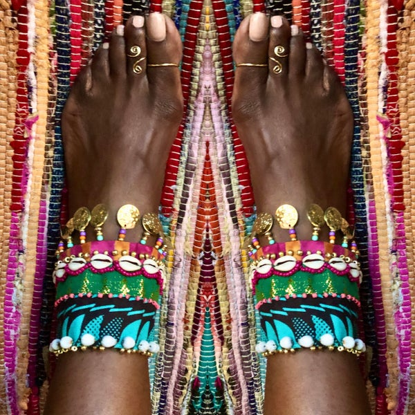 Image of Life is  a Dance Anklet Cuffs