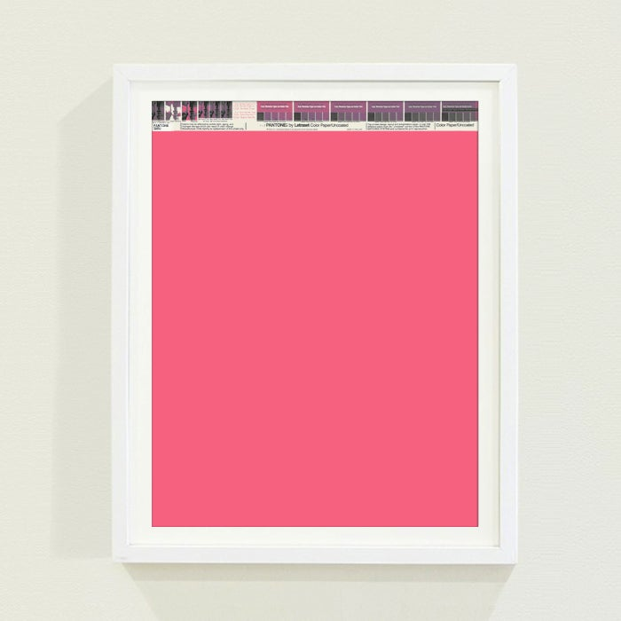 PANTONE® Letraset Posters × Pinks