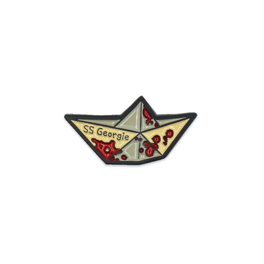 S.S. Georgie enamel pin