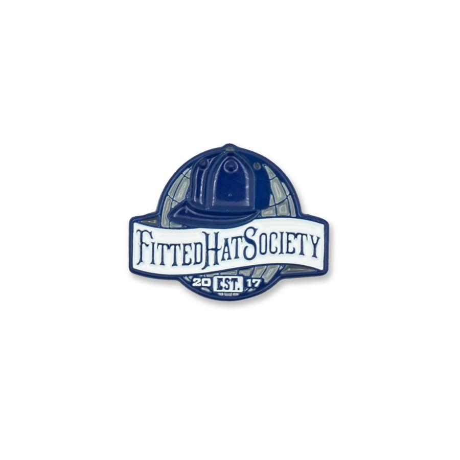 FHS World Enamel Pin - Royal Blue